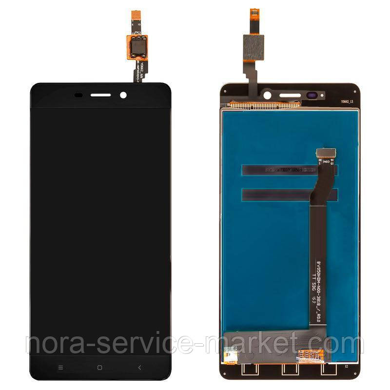 LCD Xiaomi Redmi 4 + touch Black Original