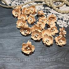 Цветы Сливы 25мм Персиковый с тычинками распродажа
