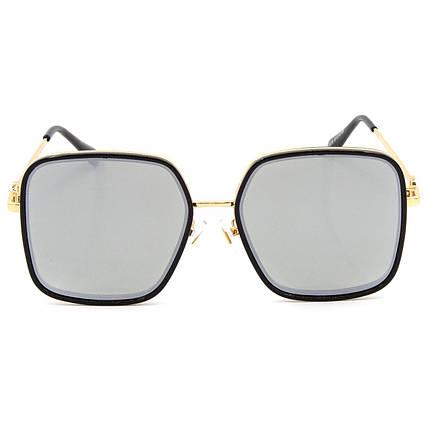 Солнцезащитные очки Marmilen Polar 3236 C3 черные с зеркальным покрытием   ( 3236-03 ), фото 2