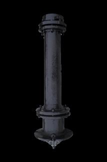 Пожарный гидрант ГОСТ подземный чугунный GIR-01