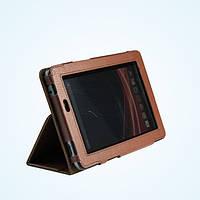 Коричневый чехол для Acer Iconia Tab A110 из синтетической кожи