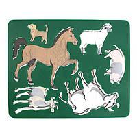 """Трафарет """"Домашние животные"""" 9С447-08 , код: 370159"""
