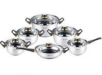 Набор посуды Rainstahl RS 1230-12 BK