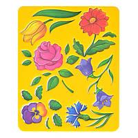 """Трафарет """"Цветы"""" 25С1575-08 , код: 940220"""