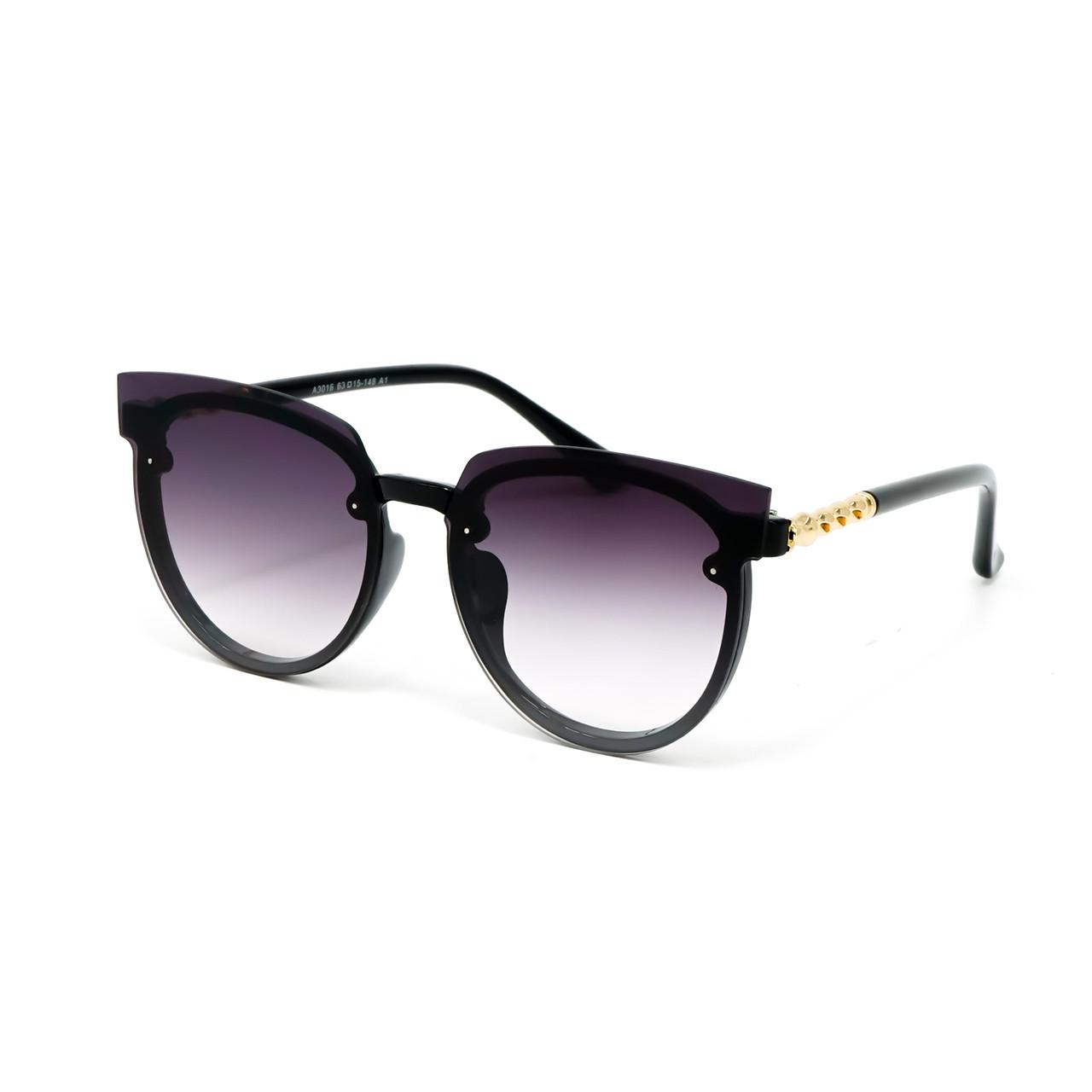 Солнцезащитные очки Marmilen A3016 C1-1 черные градиент    ( A3016-01-1 )
