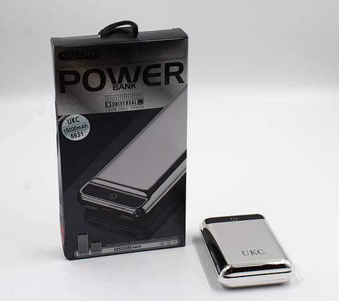 Моб. Зарядка POWER BANK 10000mAh T006 MIX COLOR UKC, фото 2