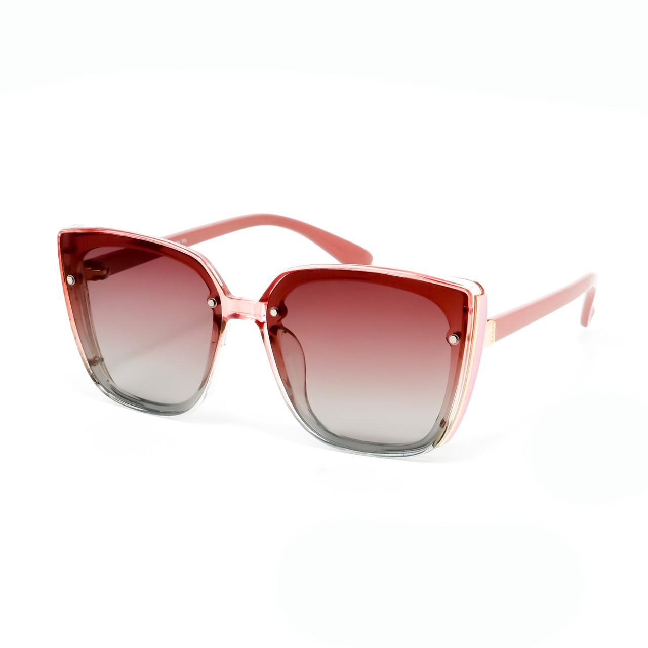 Солнцезащитные очки Marmilen Polar P8304 P6 розовые  с градиентом  ( P8304-06 )
