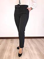 Женские легкие брюки в клеточку. Размеры .44 - 58