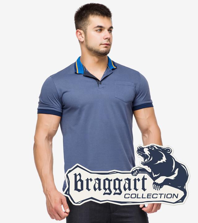 Braggart | Рубашка поло 6422 джинс