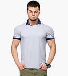 Braggart | Рубашка поло 6992 светло-серый, фото 2