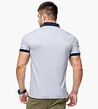 Braggart | Рубашка поло 6992 светло-серый, фото 3