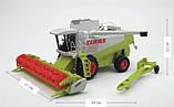 Bruder Игрушка машинка комбайн Claas Lexion 480, 02120, фото 3