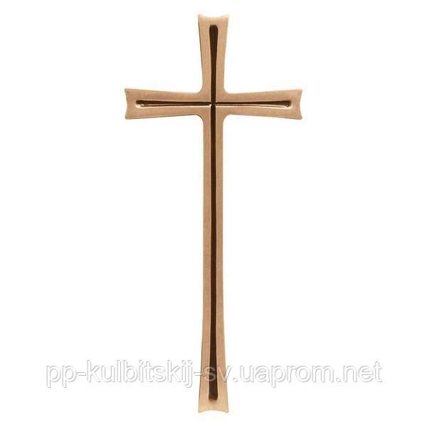 Хрест на памятник подвійний бронзовий Lorenzi 2168 \40