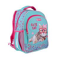 Рюкзак школьный ортопедический SMART SM-03 Cute Cat , код: 558185
