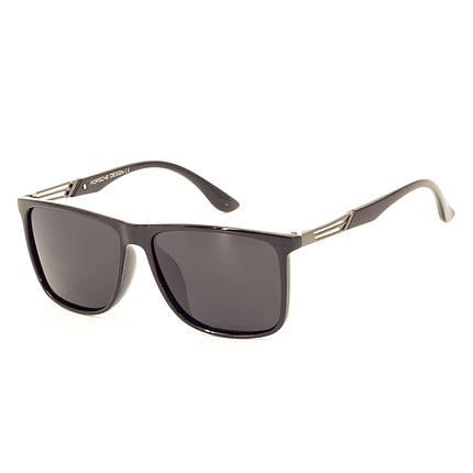 Солнцезащитные очки Porsche RP9008 C1 черные глянцевые    ( RP9008-01 ), фото 2