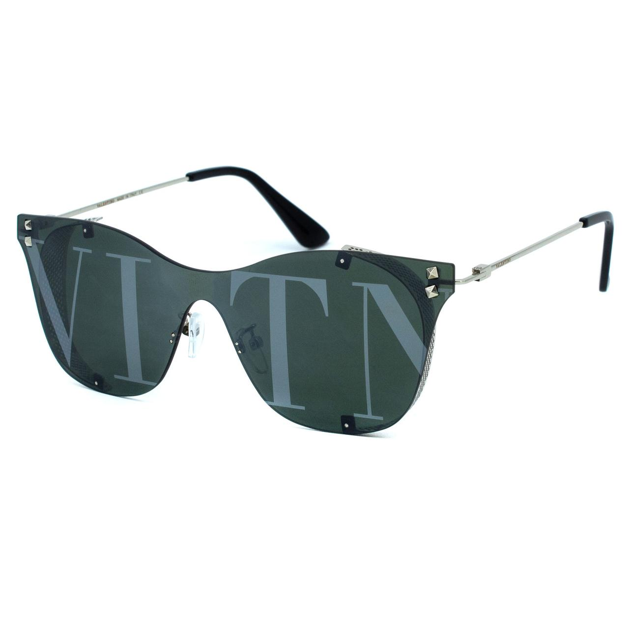 Солнцезащитные очки Valentino R5093 C4 зелено серебряные     ( R5093-04 )
