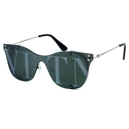 Солнцезащитные очки Valentino R5093 C4 зелено серебряные     ( R5093-04 ), фото 2