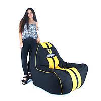 Кресло мешок Ферари , бескаркасное кресло груша , мягкий пуфик, бескаркасная мебель, мебель Лофт, фото 1