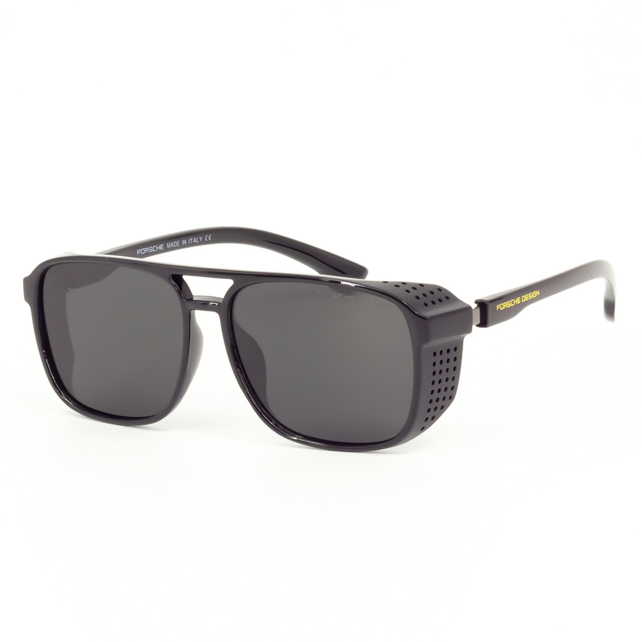 Солнцезащитные очки Porsche RP1845 C1 черные глянцевые    ( RP1845-01 )