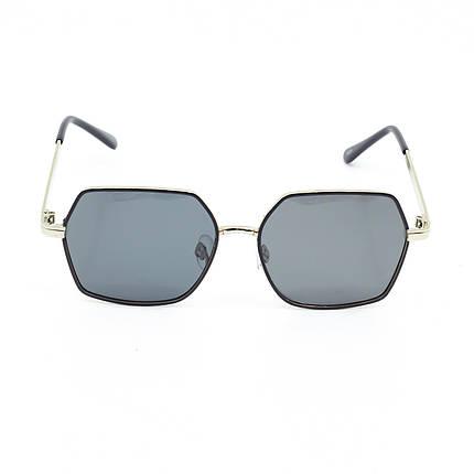 Солнцезащитные очки Marmilen 1029 C3 черно серебряные     ( 1029-03 ), фото 2