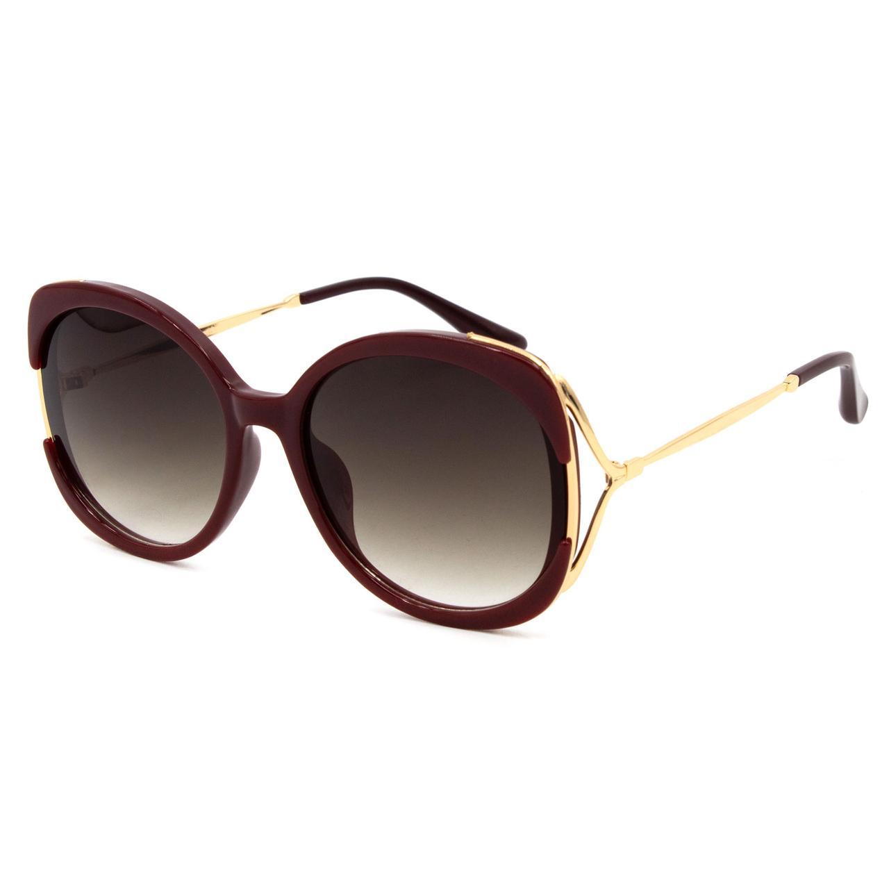Солнцезащитные очки Marmilen 95145 C3 бордовые     ( 95145-03 )