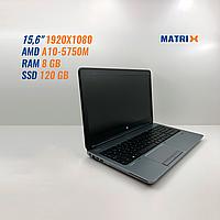 "Б/У Ноутбук HP ProBook 655 G1  (15.6""RAM 8GB""SSD 120GB)"