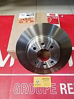 Комплект тормозных невентилируемых дисков Renault Logan 7701208252  (Motrio) - 8671018195, фото 1