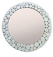 Зеркало настенное большое деревянное 54см диаметр ПРОИЗВОДИМ ЛЮБЫЕ РАЗМЕРЫ ПОД ЗАКАЗ