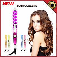 Спиральная плойка для завивки волос Rizhen perfect curl RZ-118