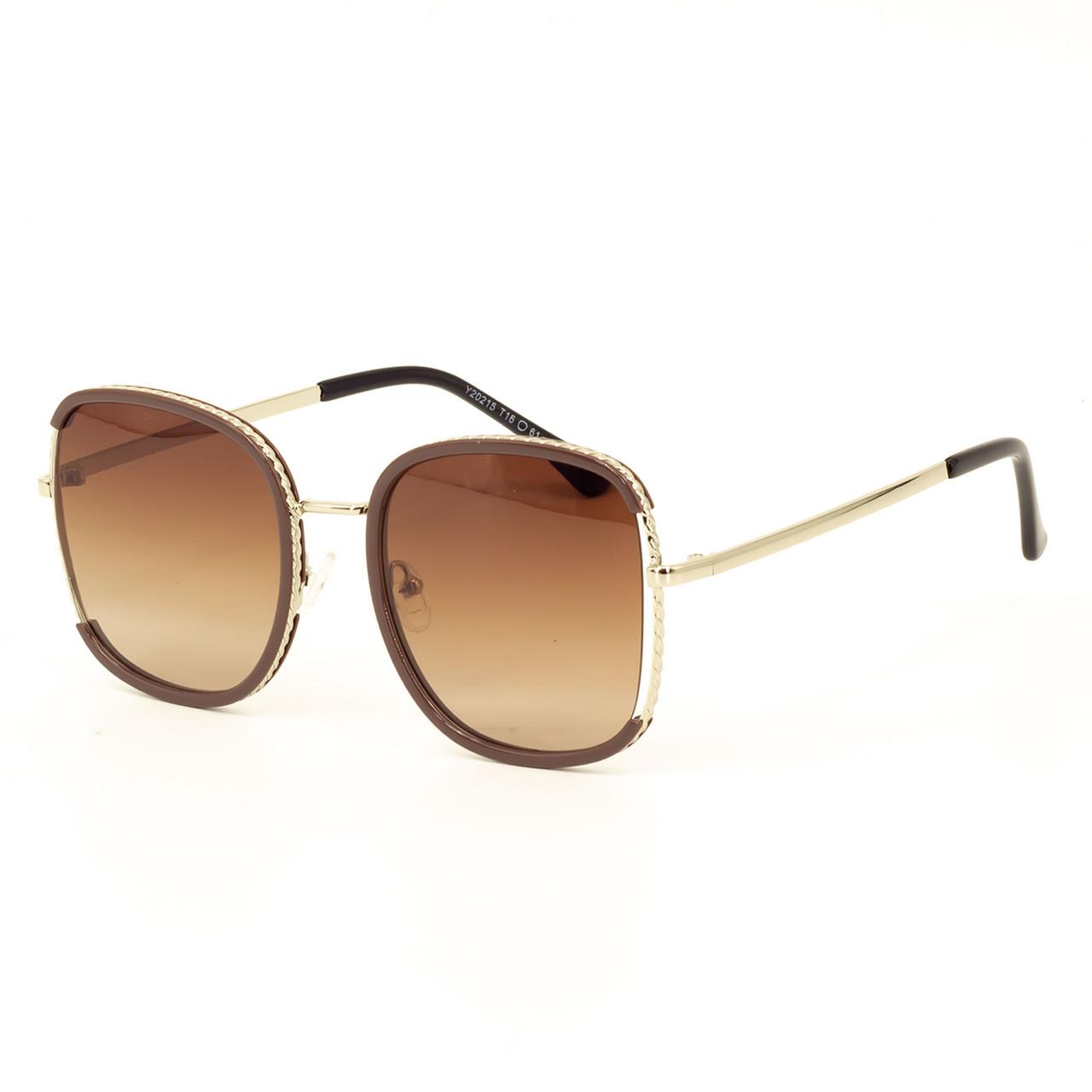 Сонцезахисні окуляри Marmilen TR-90 20215 C2 коричневі ( YA20215-02 )