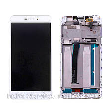 LCD Xiaomi Redmi 4a + touch + frame White Original