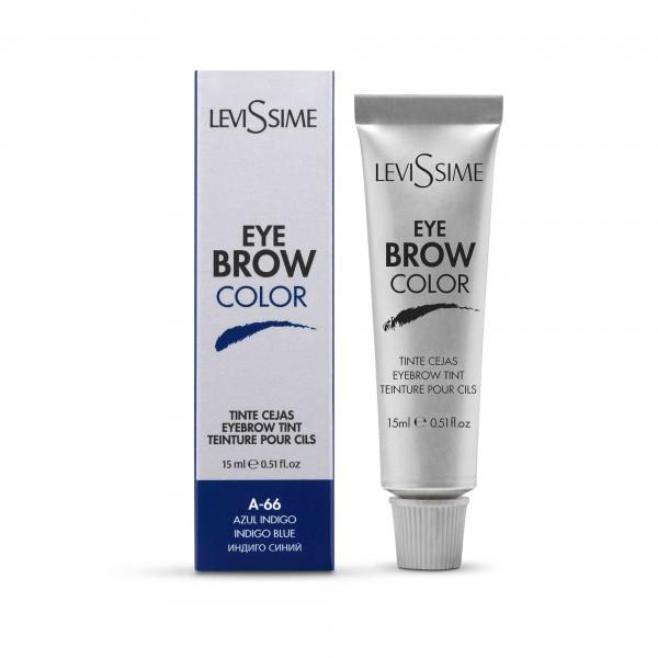 LeviSsime EyeBrow Color №A-66 Indigo Blue - Краска для бровей 15 мл