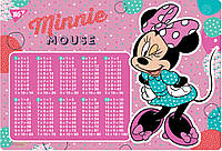 "Подложка для стола YES детская ""Minnie Mouse"", умнож. , код: 491830"