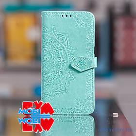 Чохол Art Case з візитниці Realme 5 Pro бірюзовий