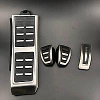 Накладки на педали Audi A4 B8, A6 C7, Q5, Q3, A5, A7 механика, фото 1