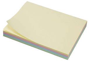 Бумага с липким слоем 75*100мм 4-цветн. 100л L1209 , код: 140106