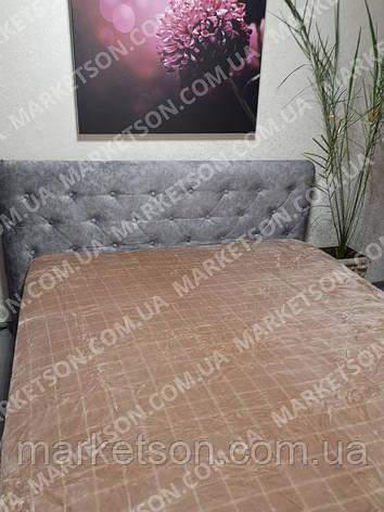 Покривало плед Шиншила 200х230 євро розмір, фото 2