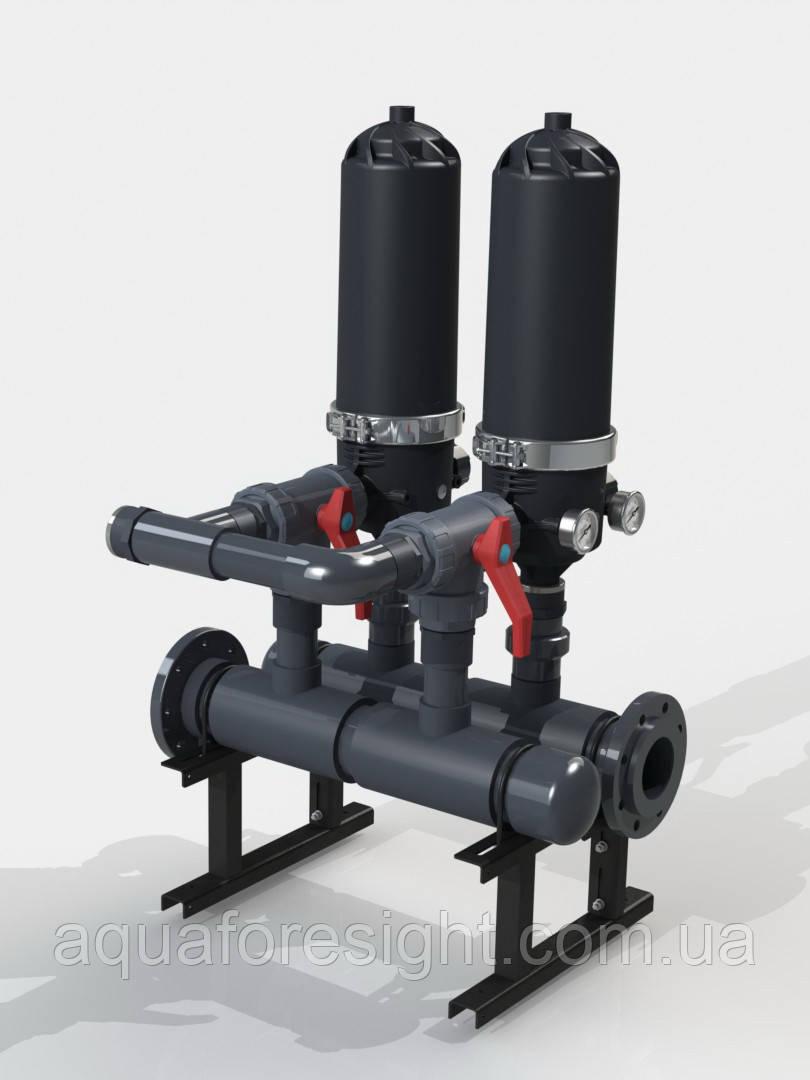 Напівавтоматичний фільтр PDF 216A-S (130-400 micron) до 60 м3/год