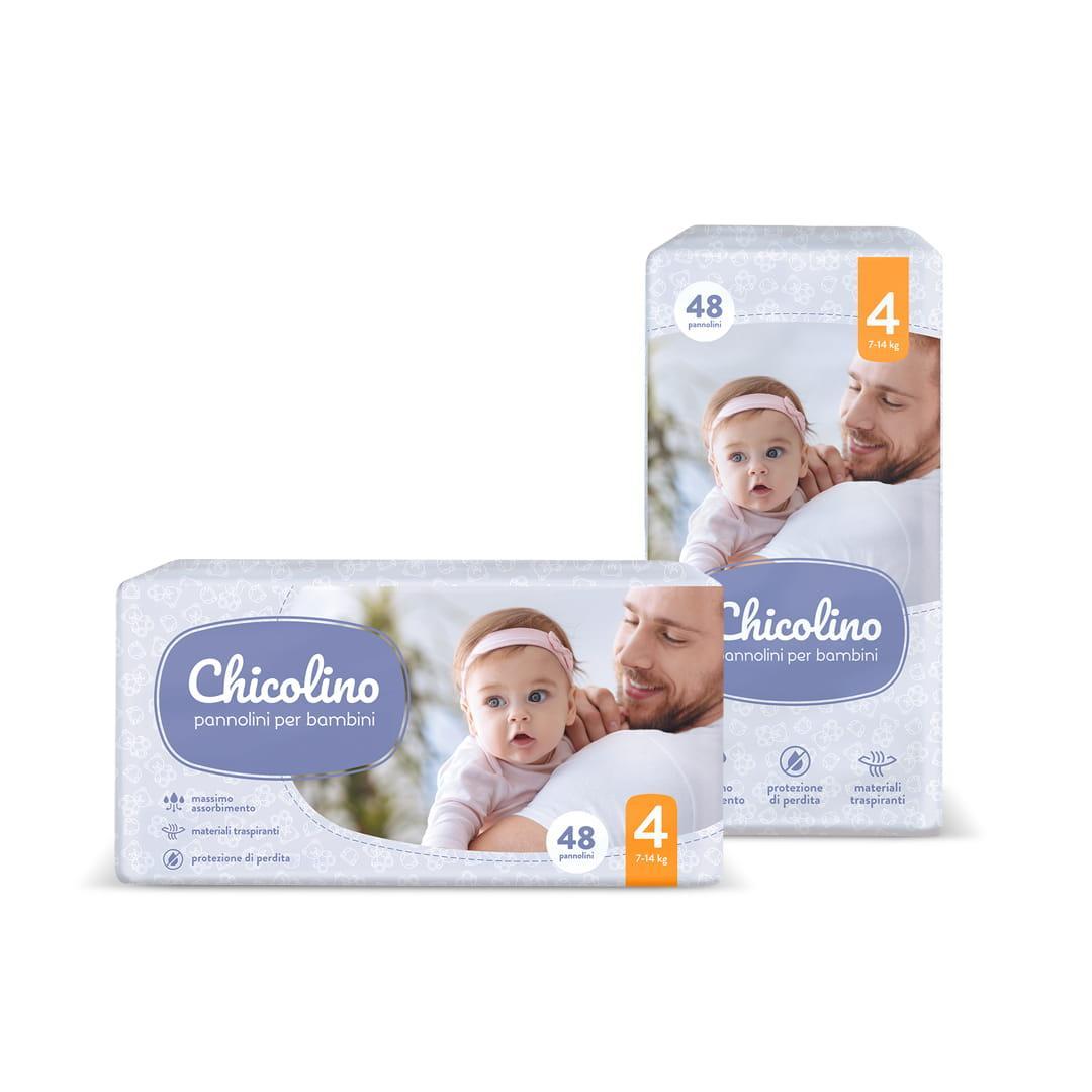 Підгузки Chicolino 4 (7-14кг), 48шт