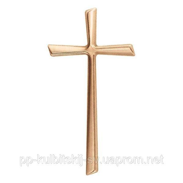 Хрест на памятник з граніту бронзовий Lorenzi 2050 \16