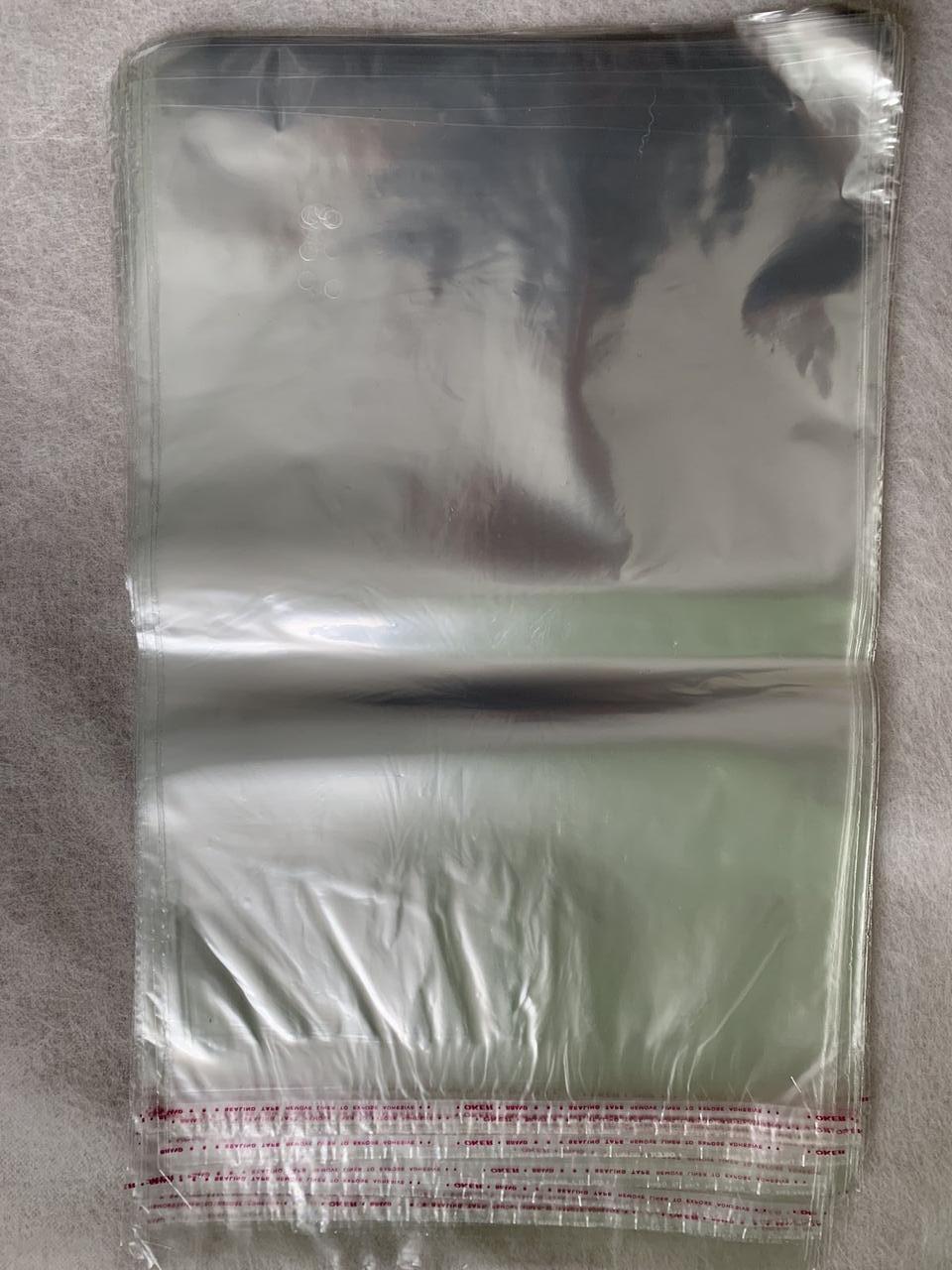 Пакети поліпропіленові з клапаном 25*35 см 30 мкм 100 штук