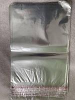 Пакети поліпропіленові з клапаном 25*35 см 30 мкм 100 штук, фото 1