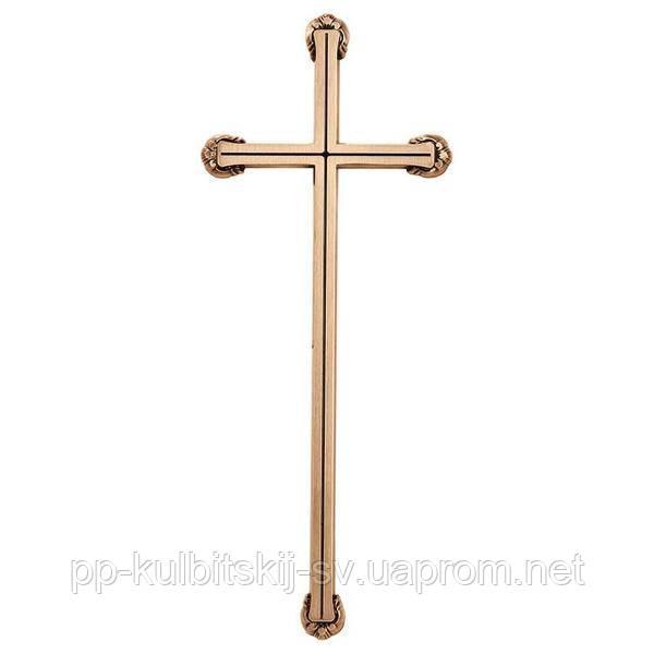 Хрест на памятник надгробний бронзовий Lorenzi 2173 \40