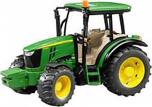 Bruder Игрушка машинка трактор John Deere 5115M, 02106