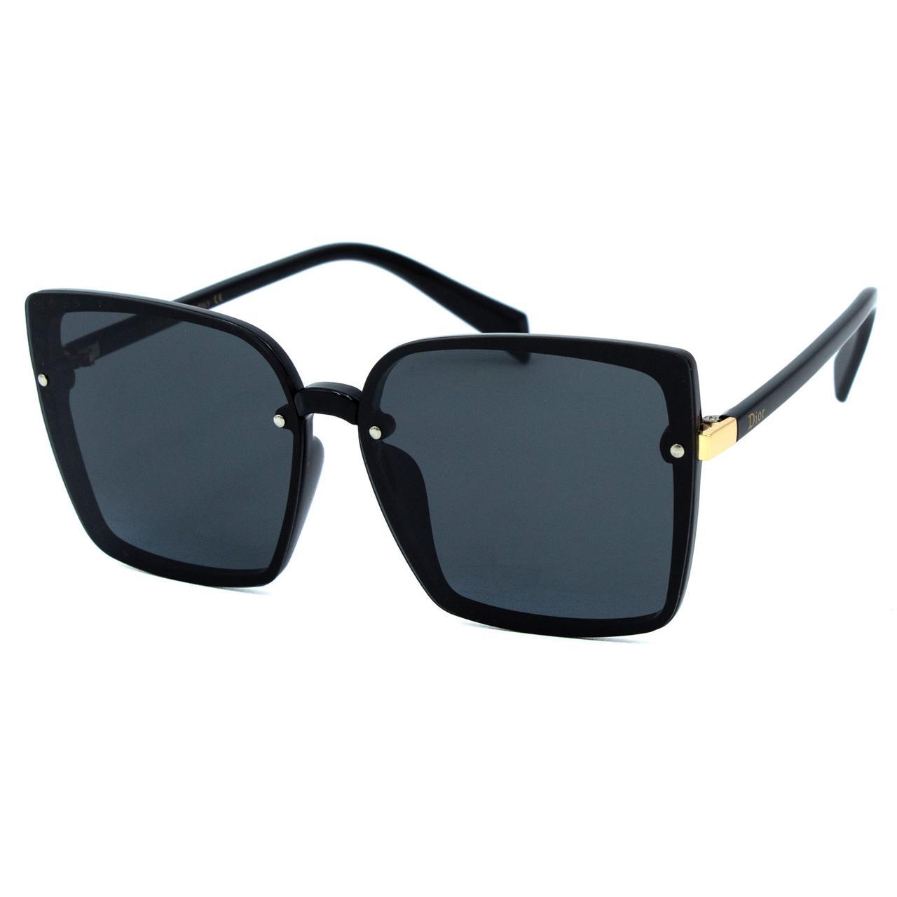 Солнцезащитные очки Dr R9962 C1 черные     ( R9962-01 )