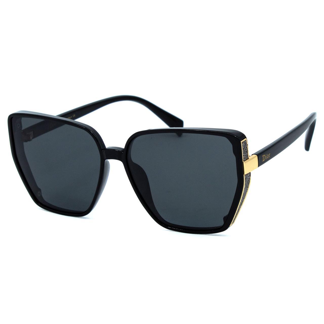 Солнцезащитные очки Dr R9950 C1 черные     ( R9950-01 )