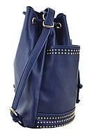 Сумка- рюкзак YES, темно-синий, 30*27*15.5 , код: 554152, фото 2