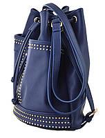 Сумка- рюкзак YES, темно-синий, 30*27*15.5 , код: 554152, фото 4