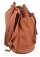 Сумка- рюкзак YES, рыжий, 30*27*15.5 , код: 554154, фото 2