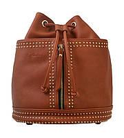 Сумка- рюкзак YES, рыжий, 30*27*15.5 , код: 554154, фото 3